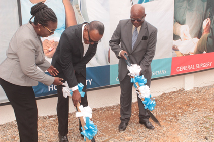 Sic Health Services Limited Cuts Sod To Construct New Ultramodern Hospital